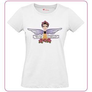 Camiseta Frida Yo Te Cielo