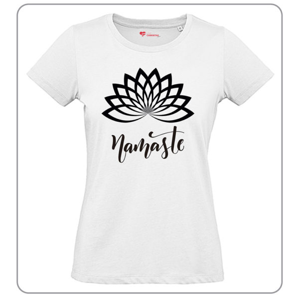 Camiseta Namaste Blanca