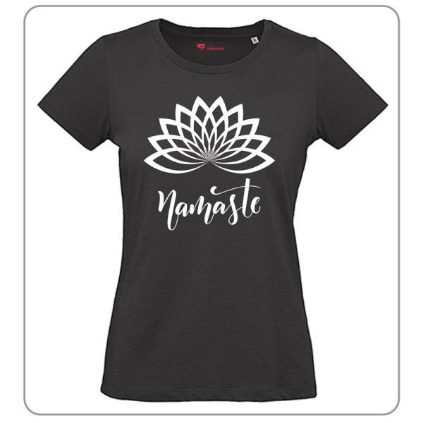 Camiseta Namaste Negra